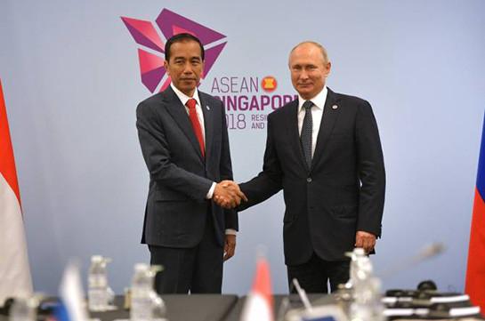 Президент Индонезии рассчитывает на скорейшее создание зоны свободной торговли с ЕАЭС