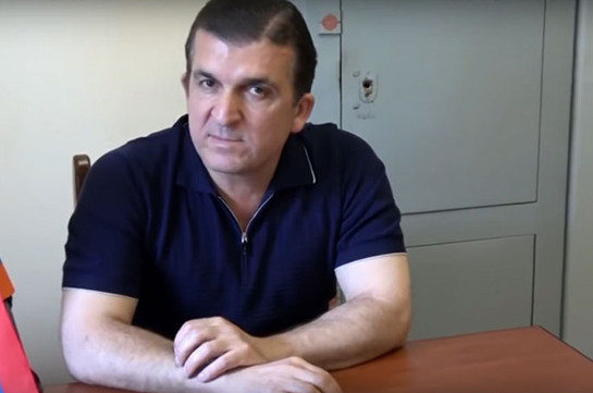 Serzh Sargsyan's chief bodyguard Vachagan Ghazaryan arrested