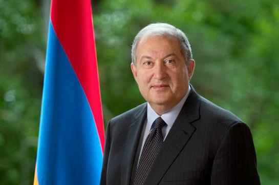 ՀՀ նախագահը շնորհավորական ուղերձ է հղել Ղրղզստանի նախագահին