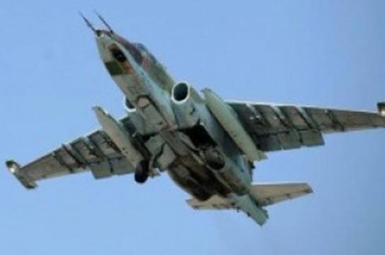 Су-25 ВС Армении разбился, пилоты погибли