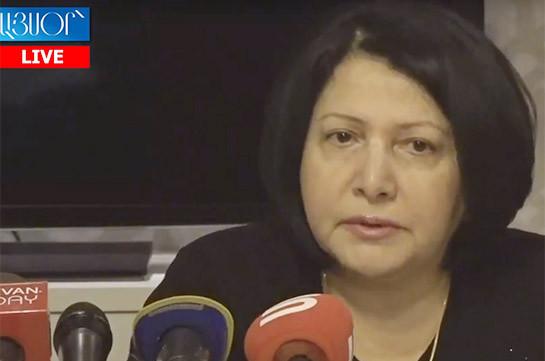 Time necessary to eradicate corruption in Armenia: Silva Hambardzumyan