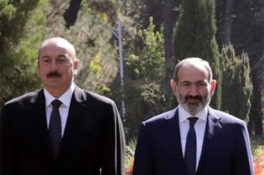 Armenia's acting PM, Azerbaijani President discuss Karabakh conflict settlement in St. Petersburg