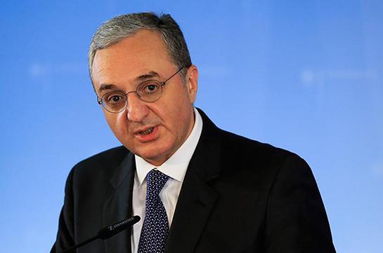 Մենք տարանջատում ենք հայ-թուրքական հարաբերություններն այլ գործընթացներից. Զոհրաբ Մնացականյան