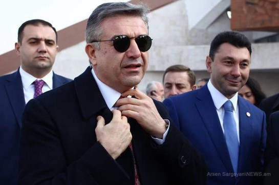 Former PM Karen Karapetyan leaves Republican party