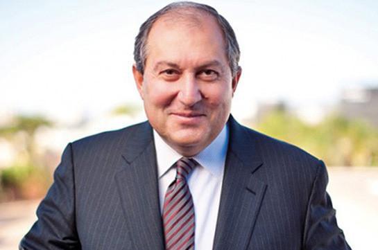 Президент Армен Саркисян направил поздравительное послание Эмиру Катара Шейху Тамиму бин Хамаду Аль Тани