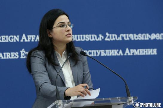 ՀՀ ԱԳ նախարարի և ԱՄՆ պետքարտուղարի հանդիպումն այս պահին օրակարգում չէ. Աննա Նաղդալյան