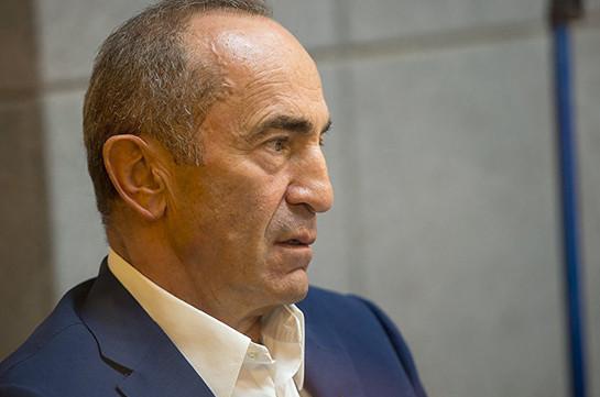 Адвокаты Кочаряна ходатайствуют о прекращении уголовного преследования