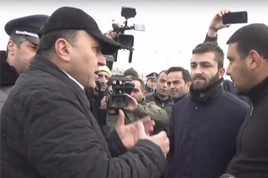 Protest actions against Manvel Grigoryan's release continue