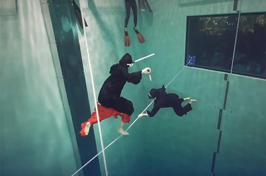 Не дыши со мной: красивый рекорд под водой