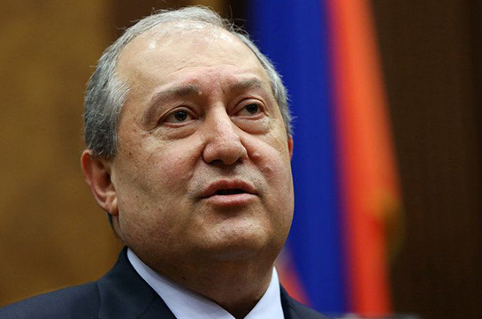 Armenia's president to pay official visit to UAE