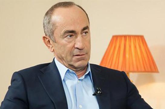 Ходатайство о замене меры пресечения Роберту Кочаряну передано на рассмотрение судье Артуру Мкртчяну