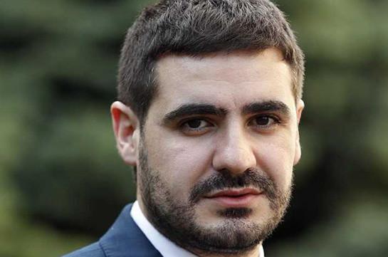 Пресс-секретарь премьер-министра Армении освобожден с должности