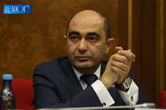 Bright Armenia faction to back Ararat Mirzoyan's candidacy, expects raise of NA's role
