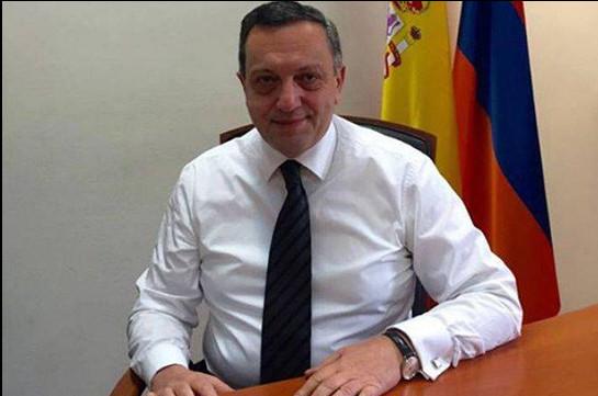 Ավետ Ադոնցը հետ է կանչվել Իսպանիայում ՀՀ արտակարգ և լիազոր դեսպանի պաշտոնից