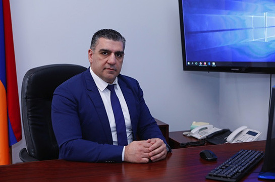 Тигран Галстян назначен руководителем-генеральным секретарем Аппарата парламента