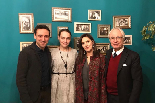 Քաղաքապետ Հայկ Մարությանն ու կինը հյուրընկալվել են Տիգրան Մանսուրյանին. կոմպոզիտորը նշում է ծննդյան 80-ամյակը