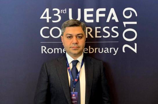 ՀՖՖ նախագահ Արթուր Վանեցյանը մասնակցել է ՈւԵՖԱ-ի 43-րդ կոնգրեսի աշխատանքներին