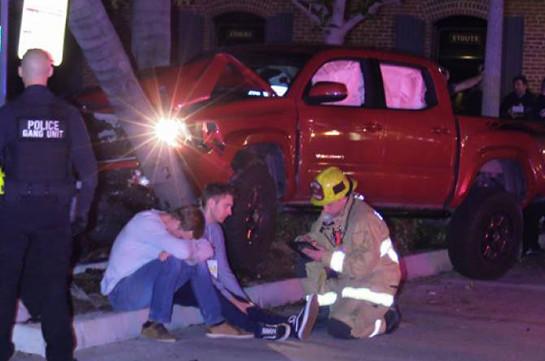 Կալիֆոռնիայում ավտոմեքենան վրաերթի է ենթարկել մի խումբ անցորդների