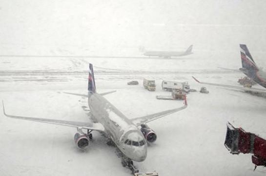 Մոսկվայի օդանավակայաններում 50 չվերթ է չեղարկվել կամ հետաձգվել