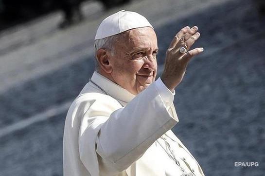 Папа Римский ответил на письмо Мадуро