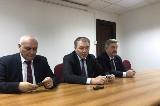 Փետրվարի վերջին ԱԺ նախագահը կմեկնի Մոսկվա