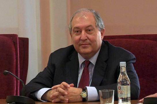 Президент Армен Саркисян направил поздравительное послание президенту Молдовы Игорю Додону