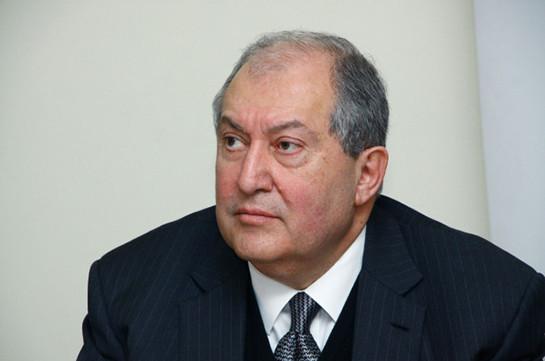 Эта потеря слишком велика – президент Армении направил телеграмму соболезнования в связи со смертью Луиз Симон-Манукян