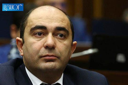 Эдмон Марукян инициировал процесс конституционных изменений для повышения роли фракций