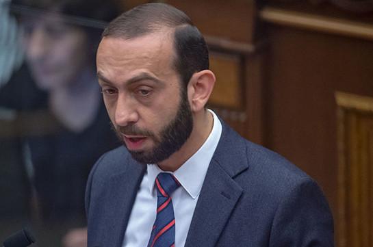 Мирзоян призвал глав парламентов стран ОДКБ осудить провокационные действия Азербайджана