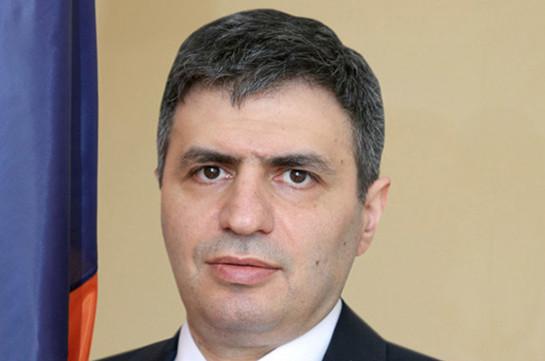 Давид Пахчанян освобожден с должности заместителя министра обороны Армении