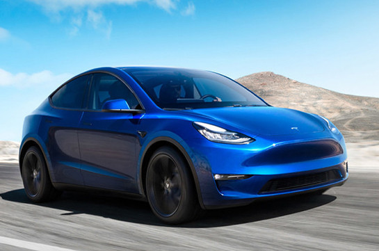 Musk adds new Model Y to electric car line-up (video)