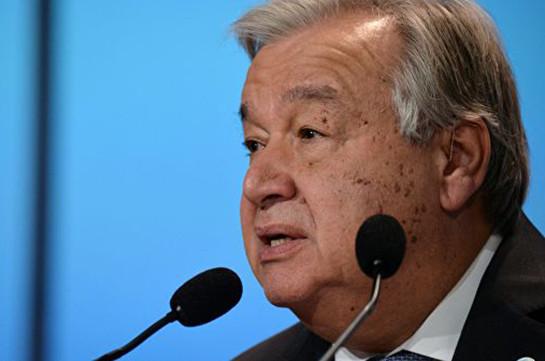 ՄԱԿ-ի գլխավոր քարտուղարը վճռականորեն դատապարտել է Նոր Զելանդիայի ահաբեկչությունը