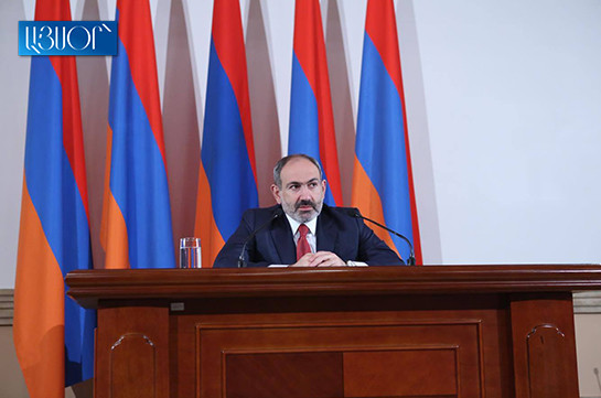 Armenia's PM discussed Iranian agenda with Russia's president before departing for Iran
