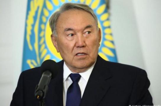 Kazakhstan's president announces resignation