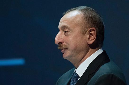 Karabakh conflict settlement negotiations format must remain unchanged: Aliyev