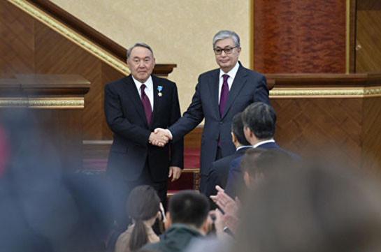 Мнение Назарбаева будет иметь приоритетное значение, заявил Токаев