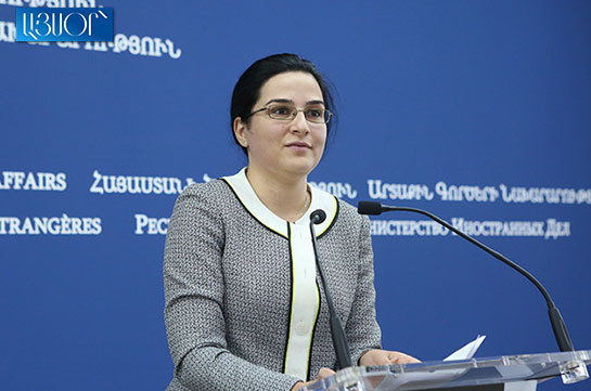 Armenia hopes Nagorno-Karabakh conflicting parties to stay committed to arrangements reached in Dushanbe: MFA