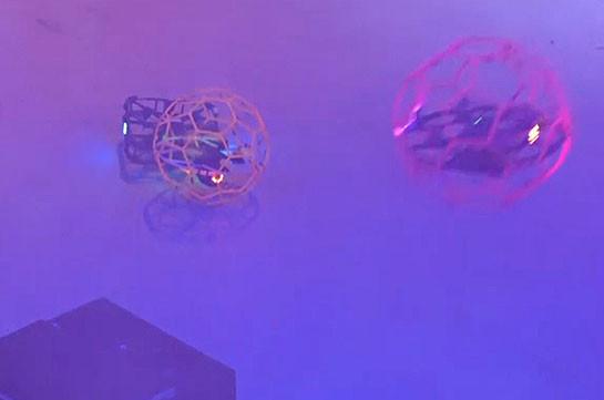 Бои среди дронов провели в нидерландском Катвейке (Видео)