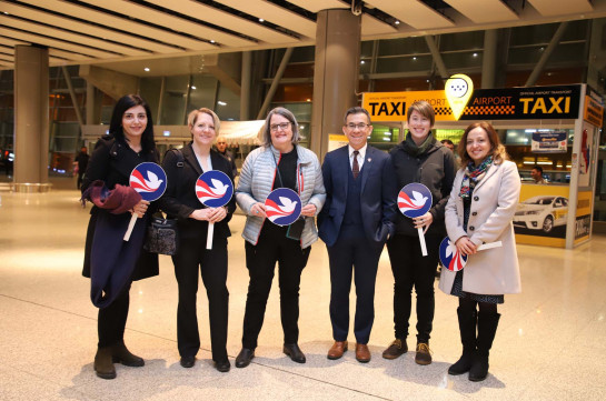 The 27th group of Peace Corps Volunteers arrived in Armenia