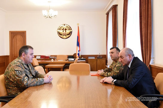 Head of General Staff Armenia's Armed Forces departs for Karabakh