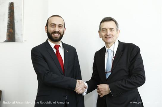 Делегации парламента Армении обсудила в Германии вопросы либерализации виз