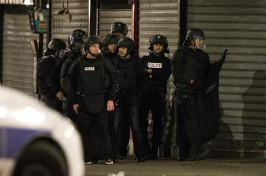 Փարիզի մոտ անցկացվում է ոստիկանական հատուկ գործողություն