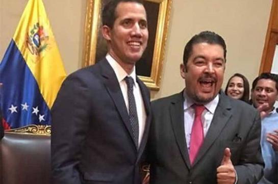 Гуайдо сообщил о задержании в Венесуэле своего близкого соратника