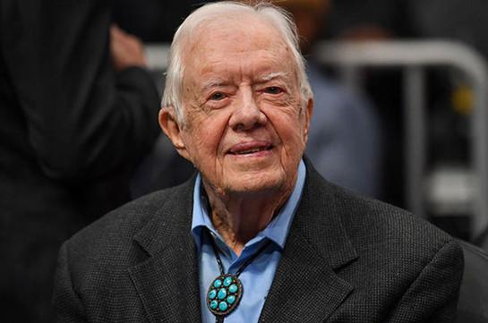 Джимми Картер стал старейшим живым президентом США