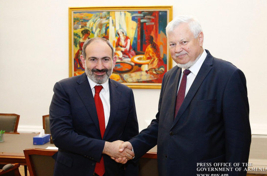Armenia's PM, OSCE CiO personal representative discuss Karabakh conflict negotiation process
