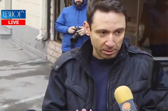 LIVE. Երևանում շարունակվում է շաբաթօրյակը. մասնակցում է Հայկ Մարությանը