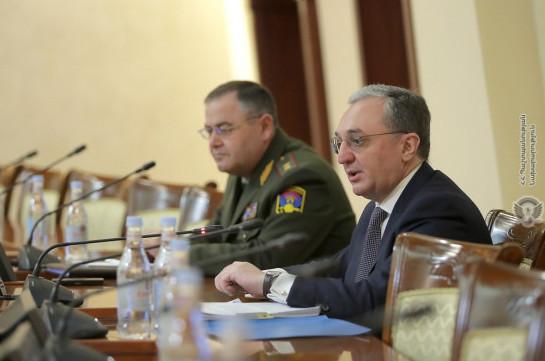 Արտգործնախարարը ԶՈւ օպերատիվ հավաքի մասնակիցներին ներկայացրել է ԼՂ հարցում Հայաստանի սկզբունքային դիրքորոշումը