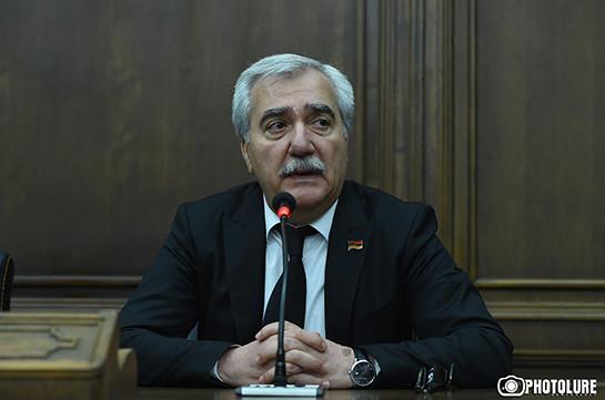 Представлена новая идеология и нужно время, чтобы она стала документом – Андраник Кочарян