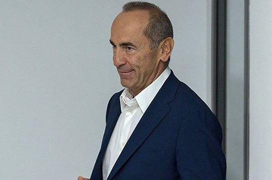 Снят арест с пенсионного счета Роберта Кочаряна, ему предоставлен компьютер – омбудсмен