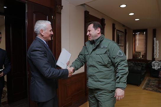 Давид Тоноян принял постоянного координатора ООН в Армении